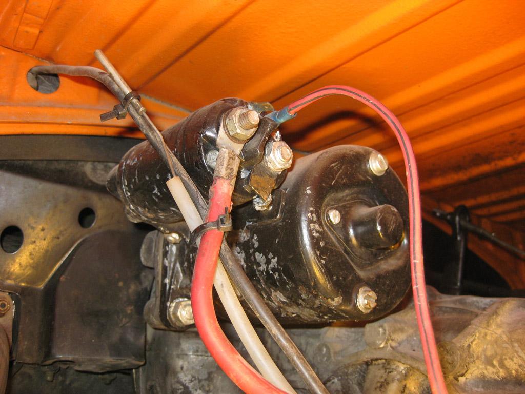 Kever startmotor draait niet